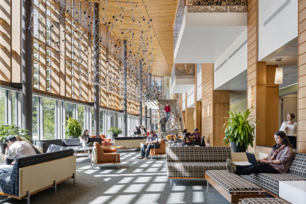 UNH, Peter T Paul College of Business and Economics, Location: Durham NH, Architect: Goody Clancy Associates